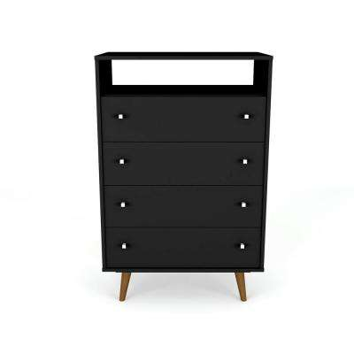 1a97904f5d501 Black - Mid-Century Modern - Dressers   Chests - Bedroom Furniture ...