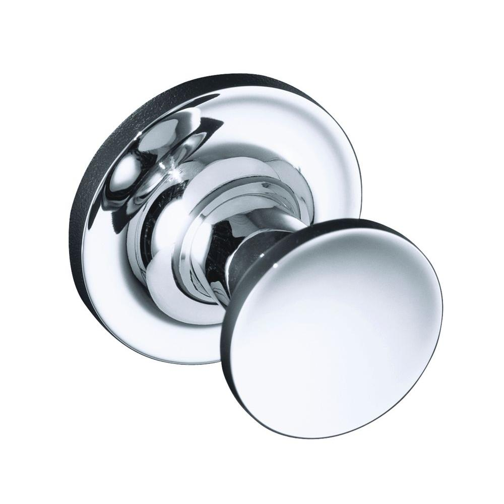KOHLER Purist Single Robe Hook in Polished Chrome