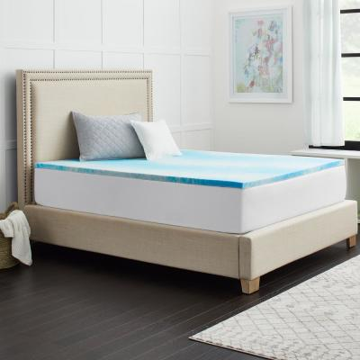 1.5 in. SealyChill Gel Queen Size Memory Foam Mattress Topper