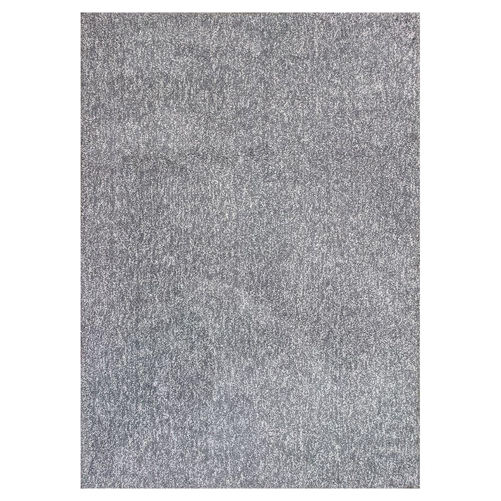 Cozy Shag Grey Heather 7 ft. 6 in. x 9 ft.