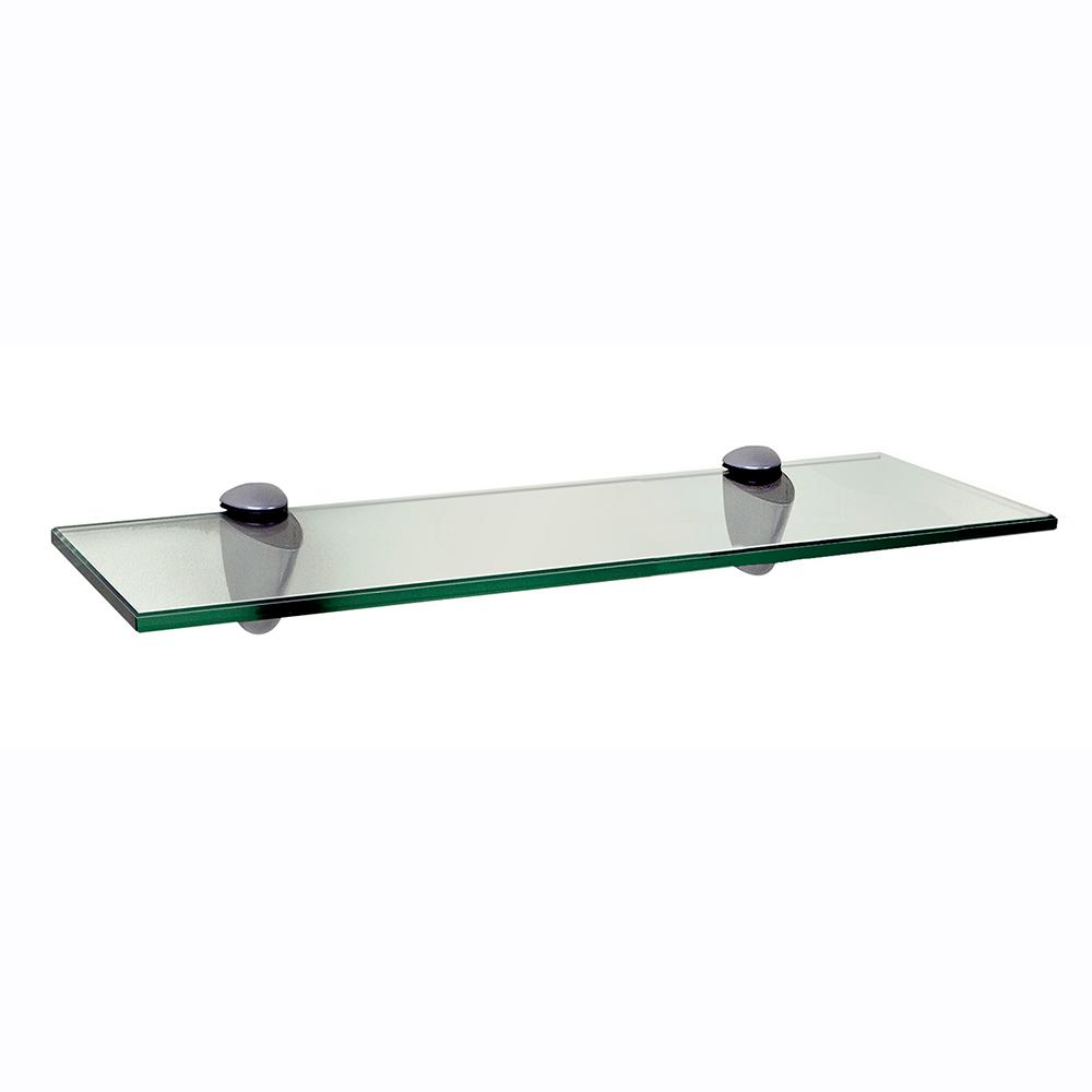 3 Colours /& 4 Sizes 1 Pair x Adjustable Glass Shelf Support Brackets
