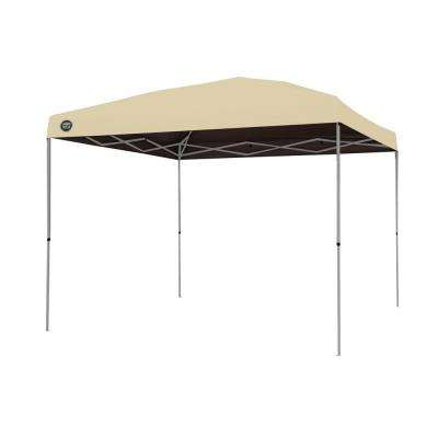 ST100 10 ft. x 10 ft. Instant Patio Canopy in Khaki