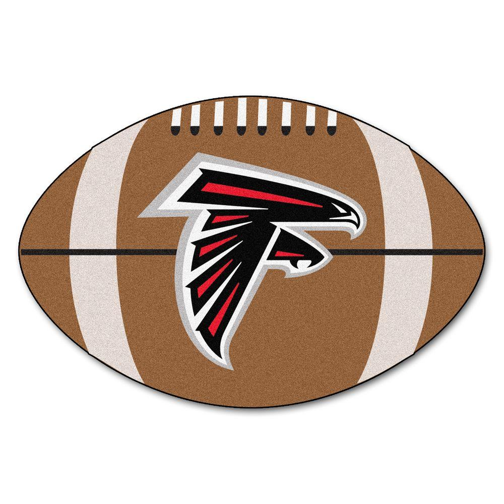 Fanmats Nfl Atlanta Falcons Brown 1 Ft 10 In X 2 Ft 11