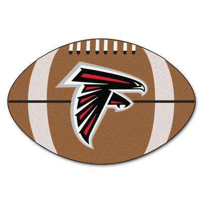 NFL Atlanta Falcons Brown 2 ft. x 3 ft. Specialty Area Rug
