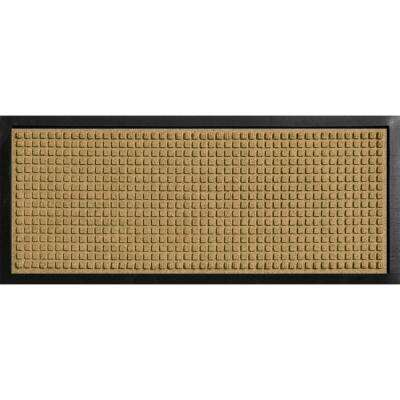 Aqua Shield Boot Tray Squares Gold 15 in. x 36 in. Door Mat