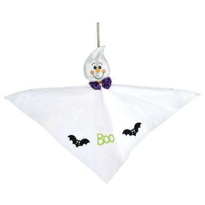 24 in. Halloween Small Ghost Hanging Decoration (4-Pack)