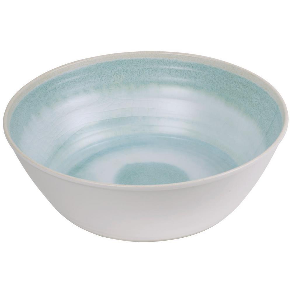 Raku Aqua Serve Bowl