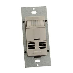 Multi-Technology Wall Switch Motion Sensor with, Gray