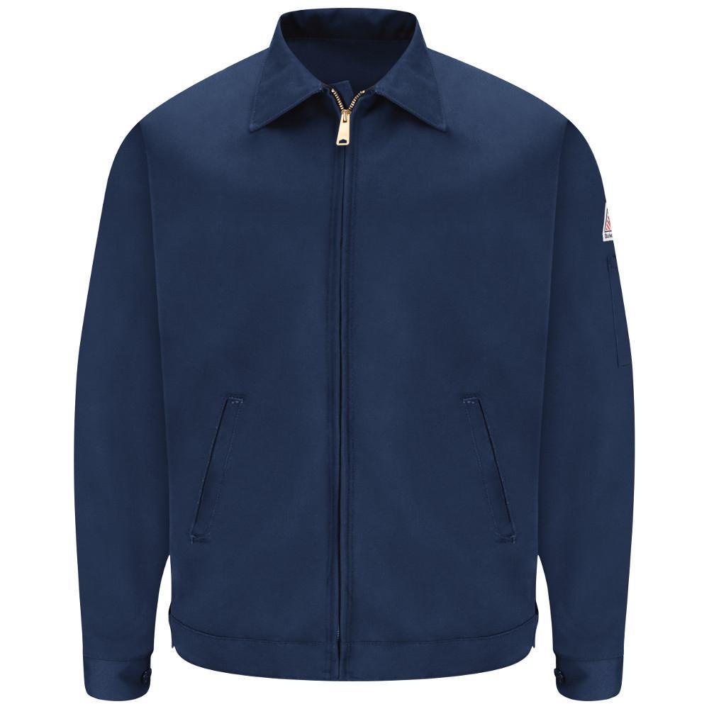 EXCEL FR Men's 2X-Large Navy Zip-In/Zip-Out Jacket