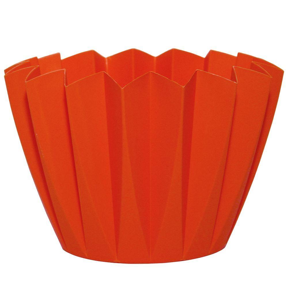 Robert Allen Home U0026 Garden Starpoint 4 In. Dia Mango Orange PVC Planter (20