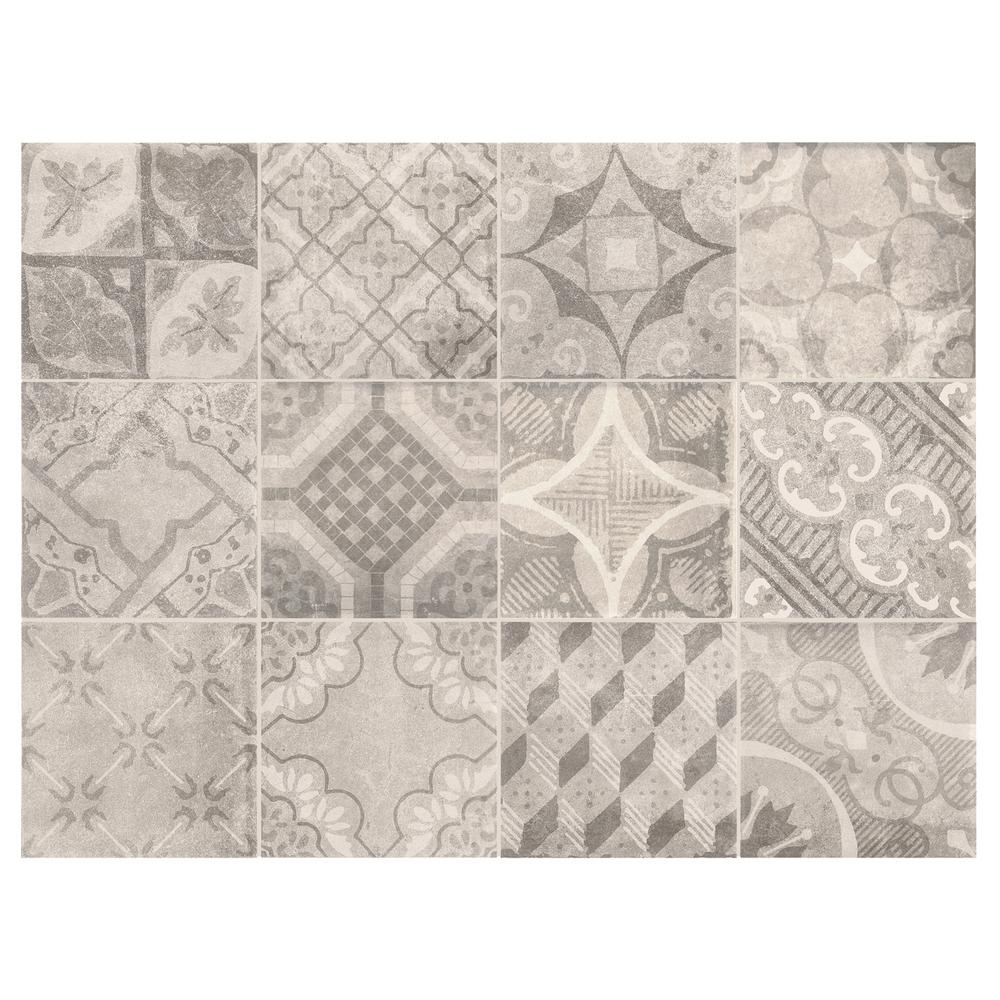 Marazzi ceramic tile tile the home depot eclectic vintage doublecrazyfo Image collections