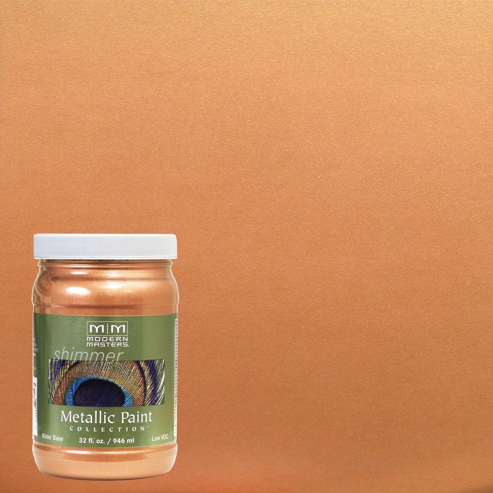 1 qt. Camel Metallic Interior/Exterior Paint