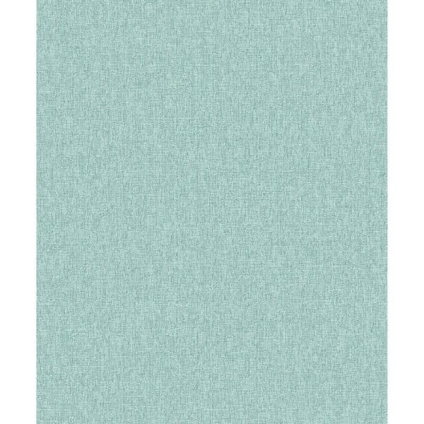 Decorline Adalynn Teal Texture Wallpaper Sample