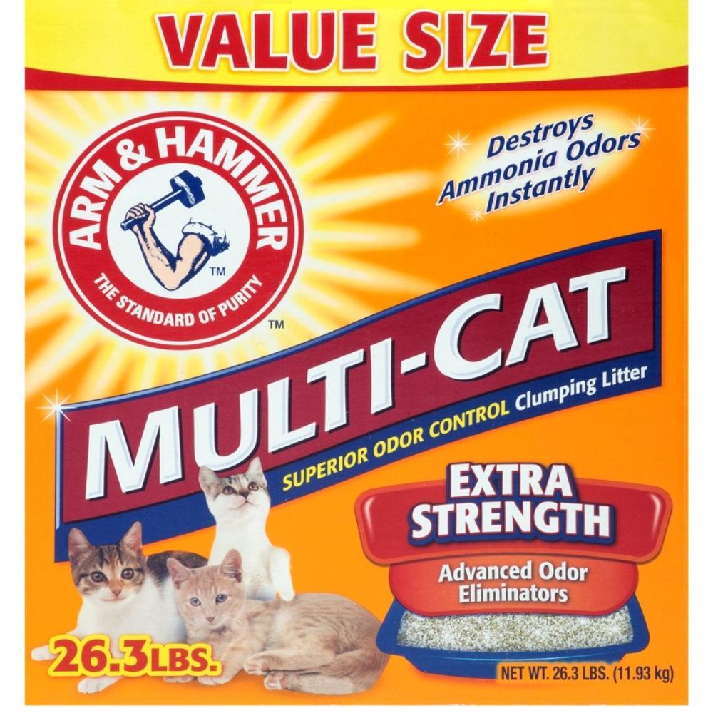 26.3 lb. Multi Cat Strength Clumping Litter