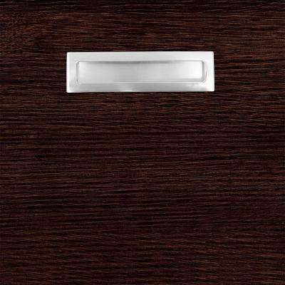 12.75x12.75x.75 in. Genoa Ready to Assemble Cabinet Door Sample in Espresso