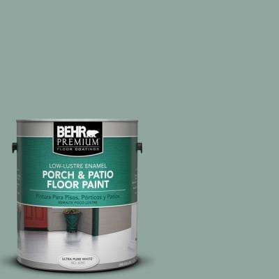 1 gal. #PPU12-05 Lotus Leaf Low-Lustre Porch and Patio Floor Paint