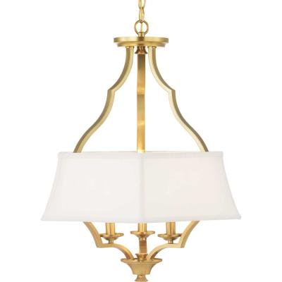 Carriage Hill Collection 3-Light Bronze Chandelier