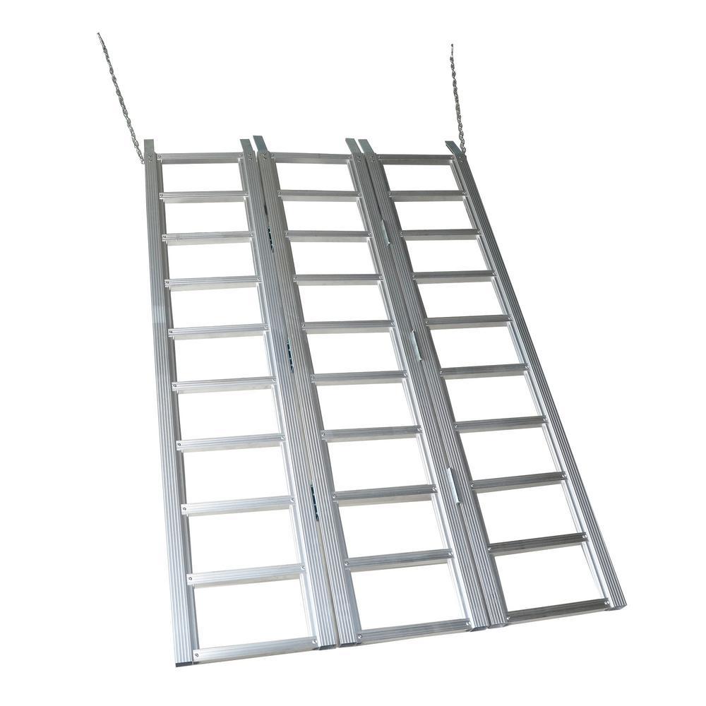 69 in. x 45 in. Aluminum Tri Fold Ramp