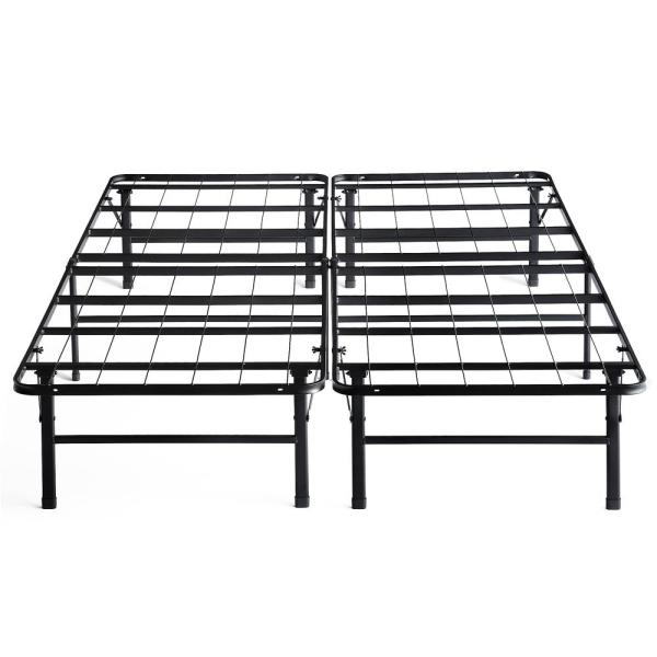 LUCID Comfort Collection Platform Bed Frame – Twin  XL LUCC22TX14FP