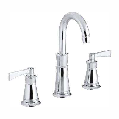 Archer 8 in. Widespread 2-Handle Bathroom Faucet in Polished Chrome