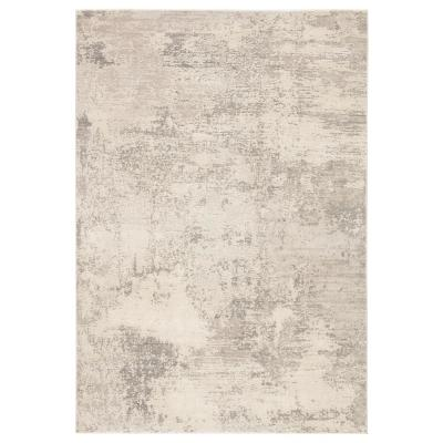 Wallis Gray 10 ft. x 14 ft. Modern Area Rug