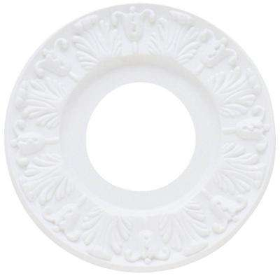 10 in. Victorian White Finish Ceiling Medallion