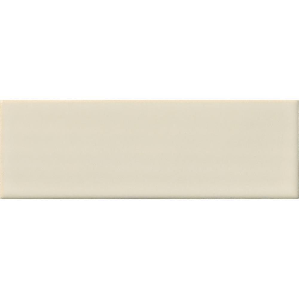 MSI Antique 4 in. x 12 in. Glazed Ceramic White Handmade Subway Tile (2 sq. ft. / case)