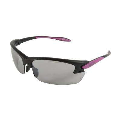 Electron Women's Ballistic Shooting Glasses in Smoke Mirror Lenses