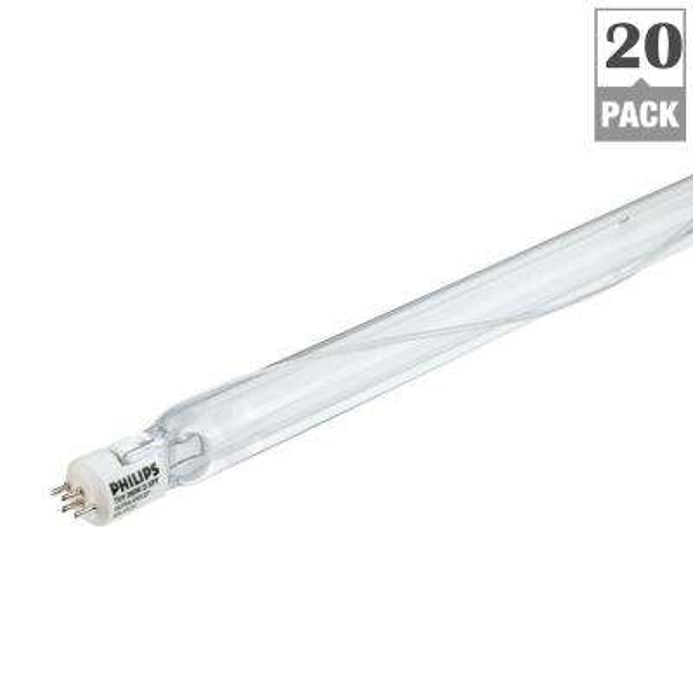 130-Watt 2.75 ft. Germicidal 4-Pin (G10.2q) TUV Amalgam XPT Light Bulb(20-Pack)