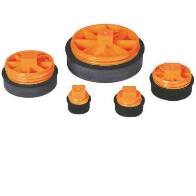 4 in. Plastic T-Cone Combination Cleanout Plug (Case of 10)