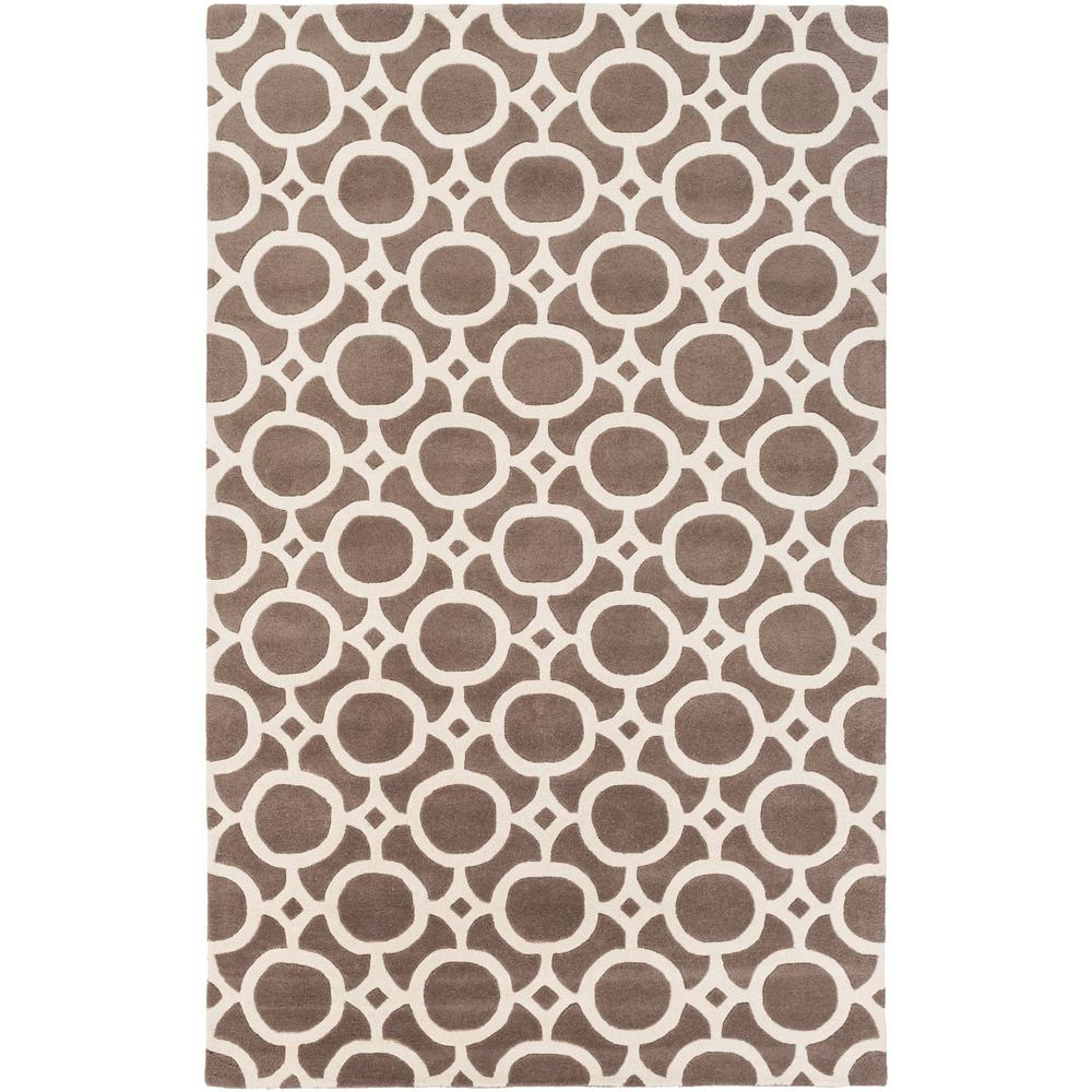 Transit Taylor Taupe 5 ft. x 8 ft. Indoor Area Rug