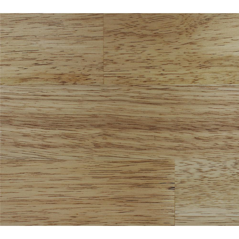 Classic Hardwoods Natural Hevea 9/16 in. T x 7.5 in. W