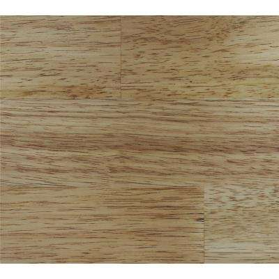 Take Home Sample-Classic Hardwoods Natural Hevea Engineered Hardwood Flooring -7.5 in. x 8.5 in.