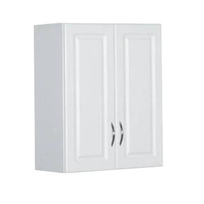 30 in. H x 24 in. W x 12 in. D White Raised Panel Wall Mounted Cabinet Storage