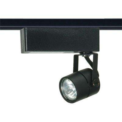 1-Light MR16 12-Volt Black Round Track Lighting Head