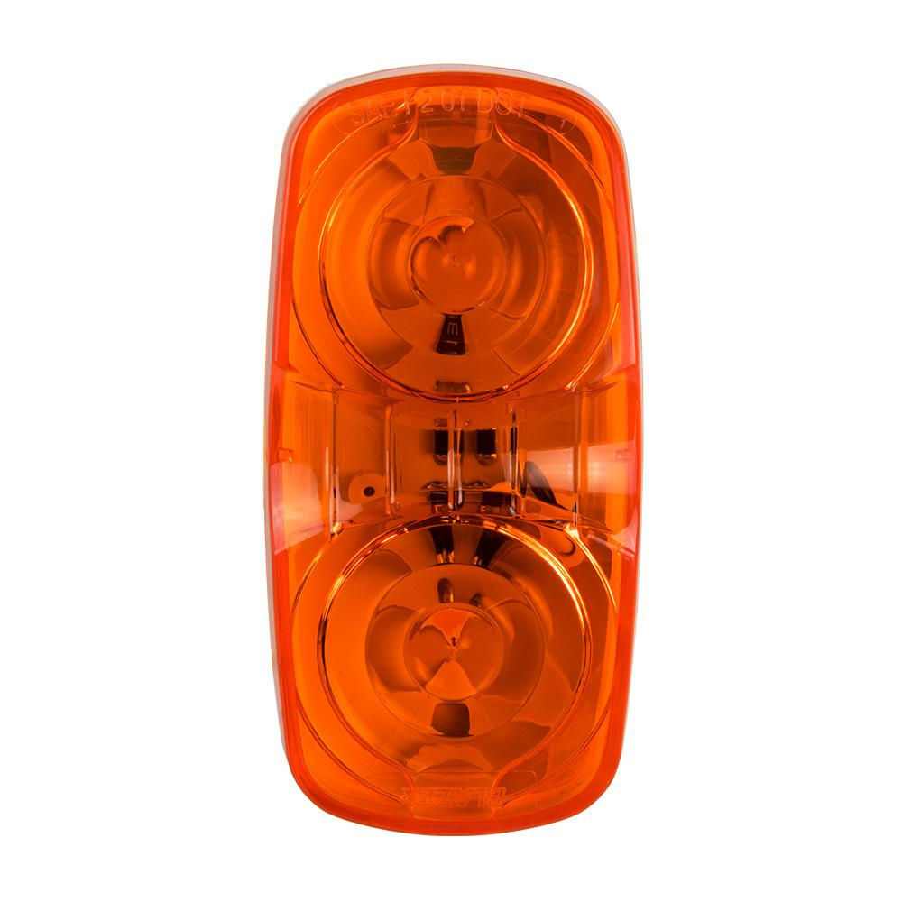 Reese Towpower 6 Way Round To 4 Flat Wiring Adapter 74605 The Trailer Home Depot In Led Double Bullseye Clearance And Side Marker Light Amber