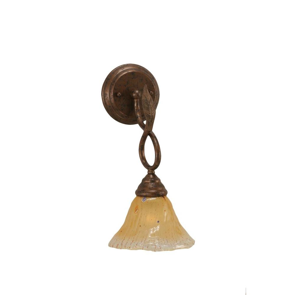 Filament Design Concord 1 Light Bronze Wall Sconce With