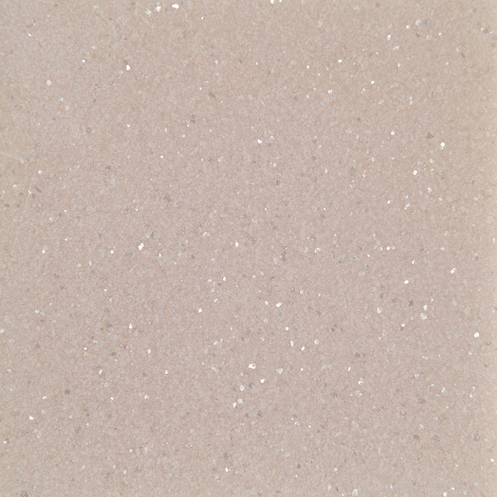 St. Paul 4 in. Solid Surface Technology Vanity Top Sample in Quartz