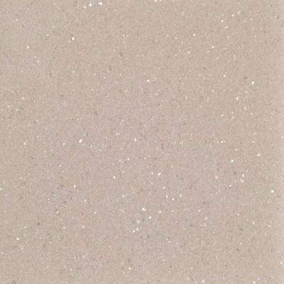4 in. Solid Surface Technology Vanity Top Sample in Quartz