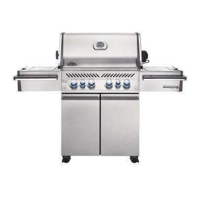 Prestige PRO 500 6 Burner Propane Gas Grill in Stainless Steel