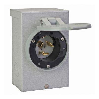50 Amp Power Inlet Box