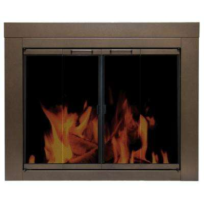 Abberly Medium Glass Fireplace Doors
