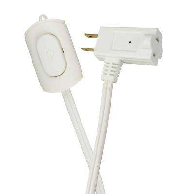15 ft. 16/2 Indoor Switch Extension Cord, White