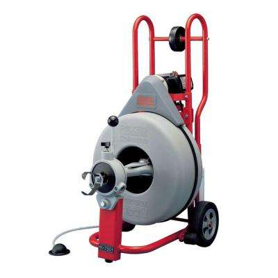 115-Volt K-750 AUTOFEED Drain Cleaner Machine with 3/4 in. Pigtail
