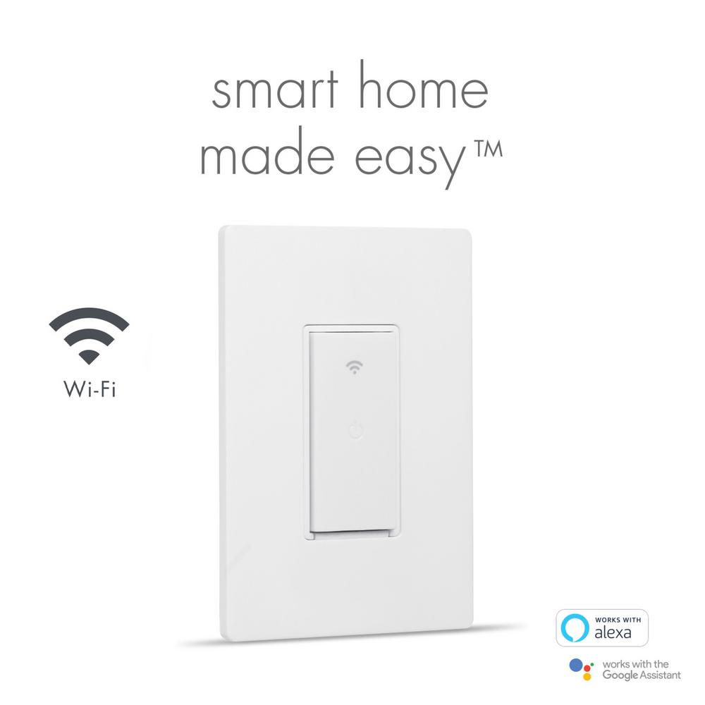 120V Control Your Heater From Anywhere with the Home Automation App for Smartphones and Tablets Wi-Fi Enabled with Belkin WeMo Light Switch Electric Water Heater Controller Kit