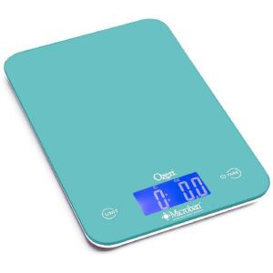 Ozeri Touch II 18 lbs. Digital Kitchen Scale with Microban Antimicrobial Product Protection by Ozeri