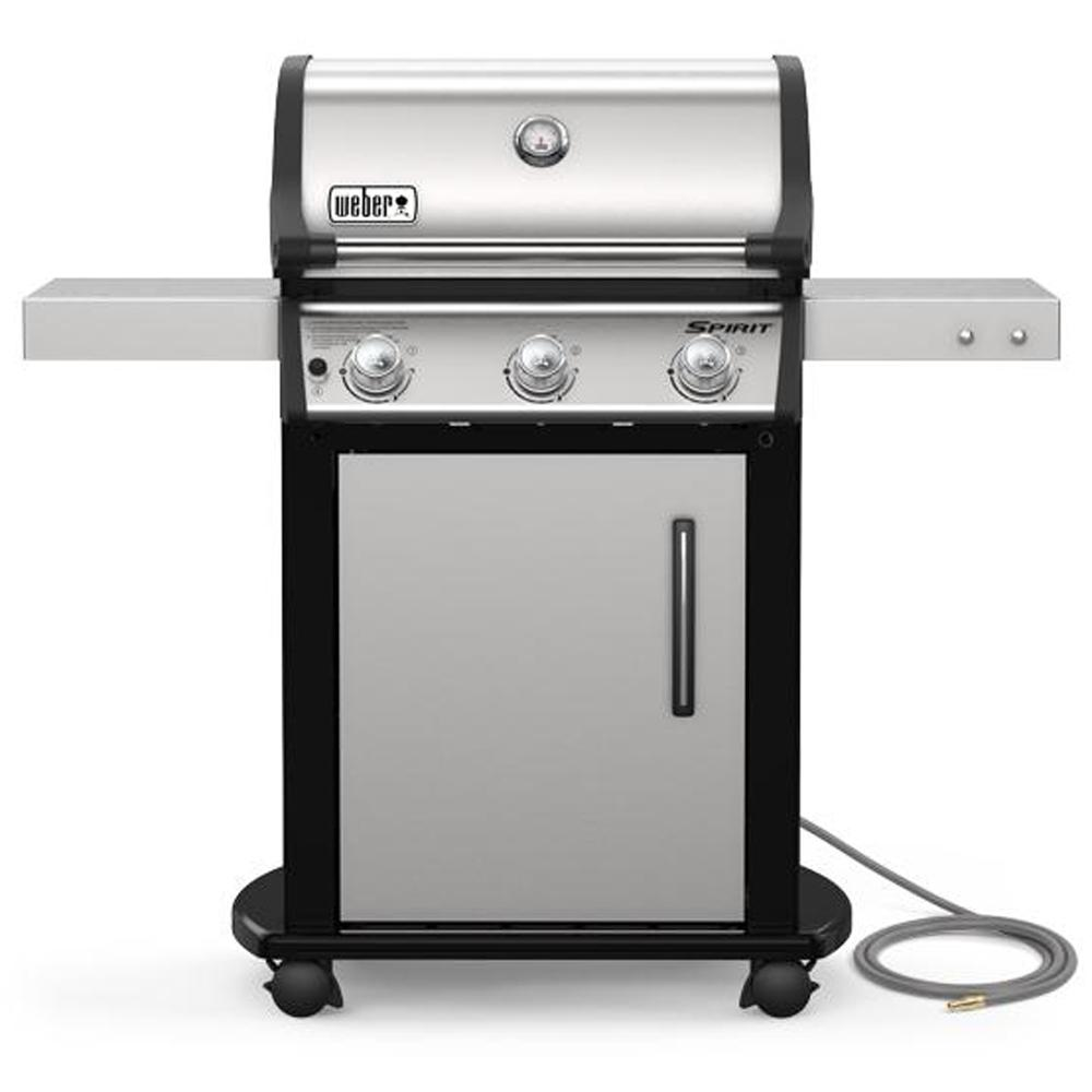 Weber Spirit S-315 3-Burner Natural Gas Grill in Stainless Steel