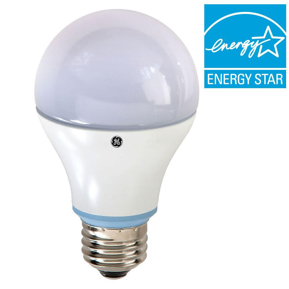 Ge Reveal 60w Equivalent Reveal A19 Dimmable Led Light Bulb Led10da19rvlestp The Home Depot
