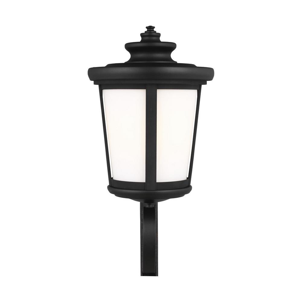 Eddington 1-Light Black Outdoor Wall Lantern