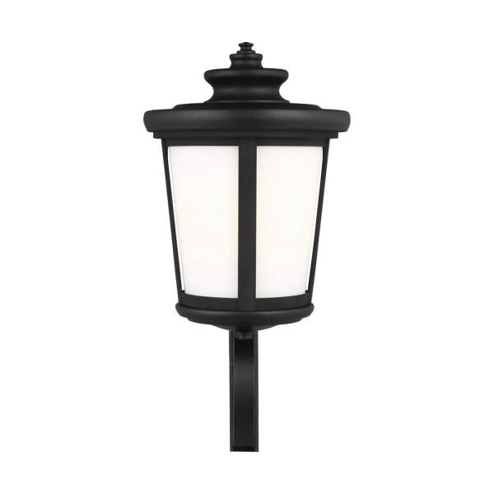 Sea Gull Lighting Eddington 1 Light Black Outdoor Wall Lantern 8819401en3 12 The Home Depot